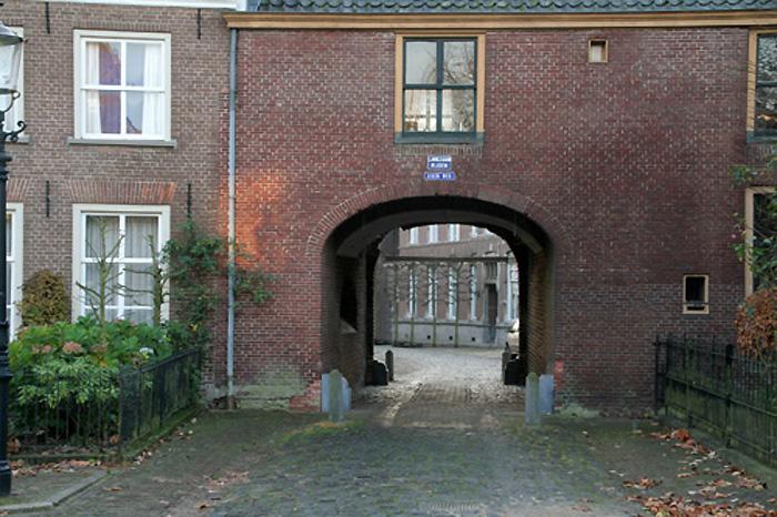 kasteelse poort