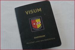 Dagvisum Land van Ravenstein